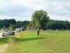 Zaungäste am BÜ nach Langenburg