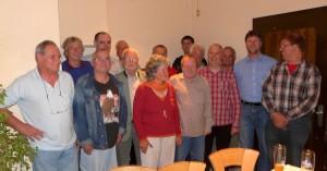 Die Gründungsmitglieder des Fördervereins Nebenbahn
